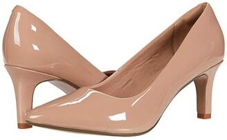Clarks Illeana Tulip (Praline Patent Synthetic) Women's Shoes