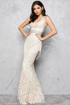Mac Duggal Sleeveless V-Neck Couture Gown 50404D