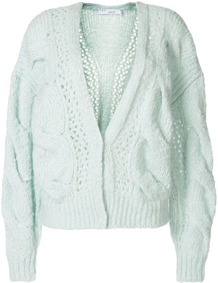 IRO Open Cable-Knit Cardigan