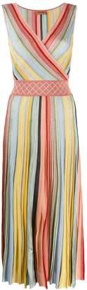 Missoni striped pleated dress