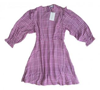 Faithfull The Brand Pink Viscose Dresses