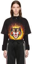 Gucci Black modern Future Tiger T-shirt