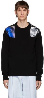 Raf Simons Black Wool Crewneck Sweater
