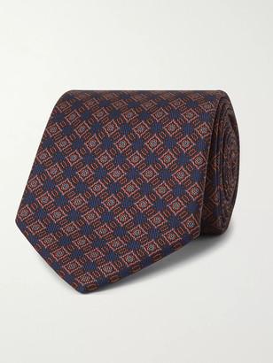 E.Marinella 8cm Silk-Jacquard Tie