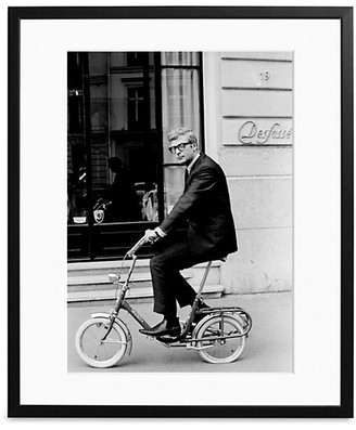 Sonic Editions Large Michael Caine In Paris Art Print