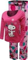 Peanuts Snoopy Junior Cut Plush Pajama for women