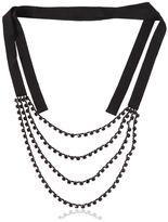 Ann Demeulemeester Multi-Strand Rhinestone Necklace