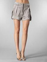Fm Silk Square Short in Grey