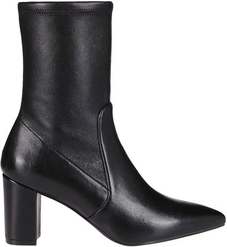 Stuart Weitzman Pointed-Toe Ankle Boots
