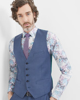 Debonair Textured Wool Waistcoat