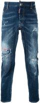 DSQUARED2 distressed jeans - men - Cotton/Spandex/Elastane/Polyester - 46
