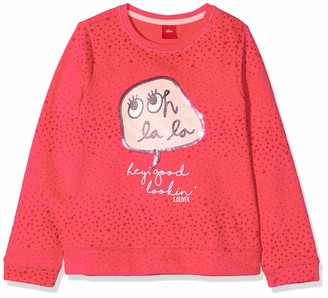 S'Oliver Junior Girl's 54.899.41.0468 Sweatshirt