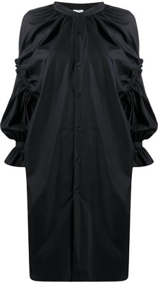 Comme des Garcons Draped And Gathered Dress