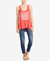 Denim & Supply Ralph Lauren Graphic Cotton Tank Top