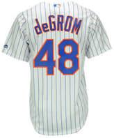 Majestic Kids' Jacob DeGrom New York Mets Replica Jersey, Big Boys (8-20)