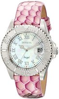 Invicta Women's 18417 Angel Analog Display Swiss Quartz Pink Watch