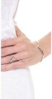 Noir Simple Hand Chain