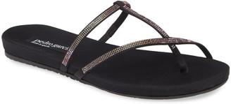 Pedro Garcia Gante Crystal Toe Loop Sandal