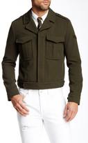 Diesel Tanvi Crop Military Jacket