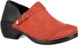 Women's 4EurSole Nubuck Leather Clog RKYH042