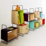 MOOD Kid's Soumaya Solid Wood Seven Module Bookcase