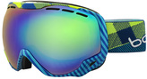 Bolle Emperor Sunglasses Blue / Green Plaid 21305 105mm
