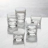 Crate & Barrel Bitty Bite Short Glasses, Set of 8