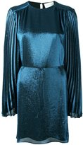 Christopher Kane pleated sleeve dress - women - Silk/Polyester/Acetate - 38