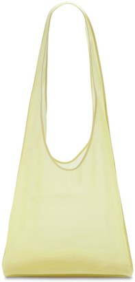 The Row Small Bindle Mache Leather Tote Bag