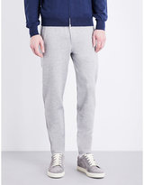 Brunello Cucinelli Tapered Cotton Jogging Bottoms