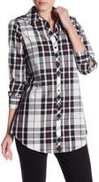 Foxcroft Long Sleeve Shaped Tartan Tunic