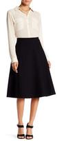 Bobeau Midi Flare Skirt