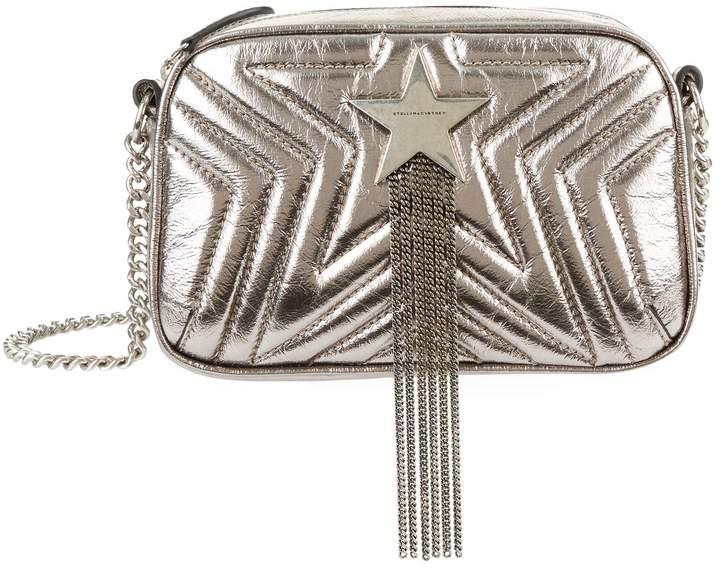 Stella McCartney Mini Metallic Stella Star Shoulder Bag