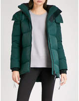 Canada Goose Ladies Algonquin Green Classic Sylvan Shell Padded Jacket
