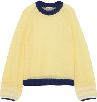 Baum und Pferdgarten Christine Striped Open-knit Sweater