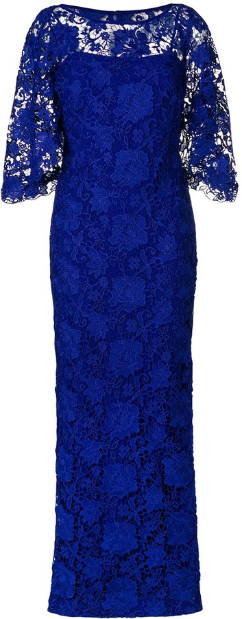 Lauren Ralph Lauren Long Lace Gown
