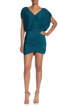 Ramy Brook Adella Ruched Mini Dress