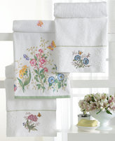 "Lenox Butterfly Meadow"" Embroidered Bath Towel, 27x50"""