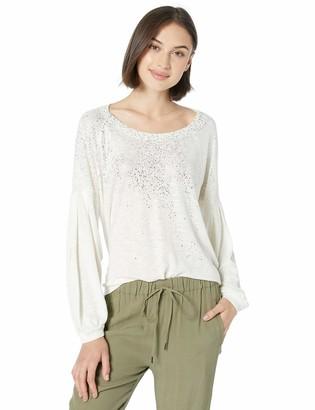 Splendid Women's Blouson Sleeves Top