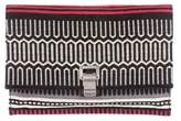 Proenza Schouler Patterned Lunch Clutch