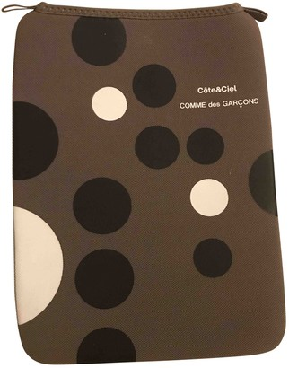 Comme des Garcons Grey Synthetic Accessories