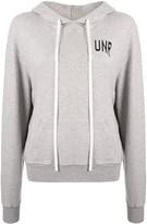 Unravel Project logo-print long-sleeved hoodie