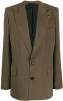 A.F.Vandevorst single-breasted oversized blazer