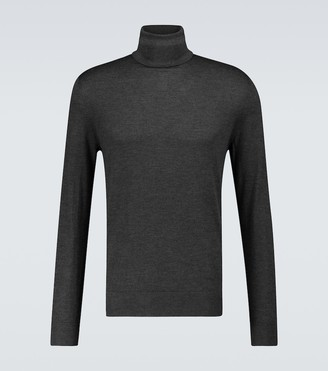 Ermenegildo Zegna Cashmere-silk turtleneck sweater