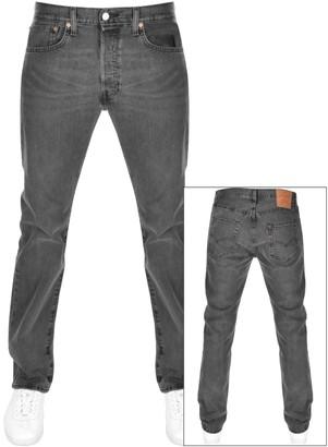 Levi's Levis 501 Original Fit Jeans Grey