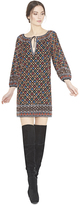 Alice + Olivia Gillian Embroidered Dress