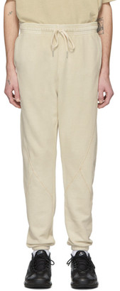 John Elliott Beige Loose Stitch Lounge Pants