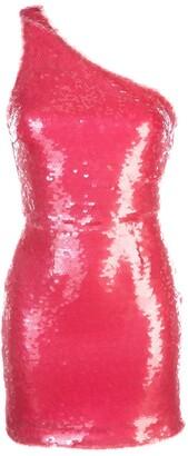HANEY Serena one shoulder dress