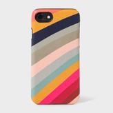 Paul Smith 'Swirl' Print Leather iPhone 7 Case