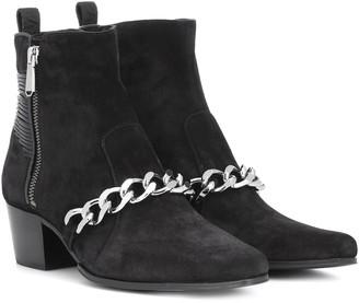 Balmain Ella suede ankle boots